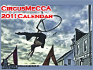 <strong>Commissioned Calendars</strong><br /> A great way to raise money and advertise your business is through a calendar. Mendocino Circus Arts put out this calendar featuring shots from their shows around Mendocino County.