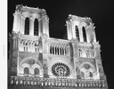 <strong>Notre Dame at night</strong>